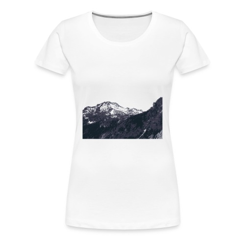 Mountains - Women's Classic Tee - Women's Premium T-Shirt