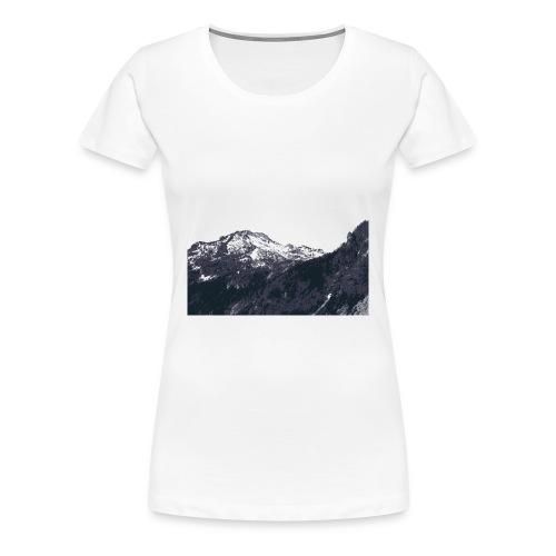Mountains - Women's Classic Tee - Women's Premium T-Shirt