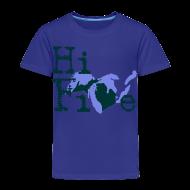 Baby & Toddler Shirts ~ Toddler Premium T-Shirt ~ Hi Five
