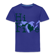Baby & Toddler Shirts ~ Toddler Premium T-Shirt ~ Hi Five