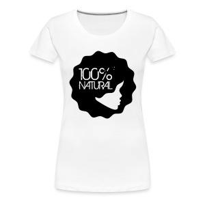 100% Natural Tee - Women's Premium T-Shirt