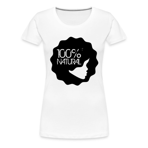 100% Natural Tee - Women's Premium T-Shirt