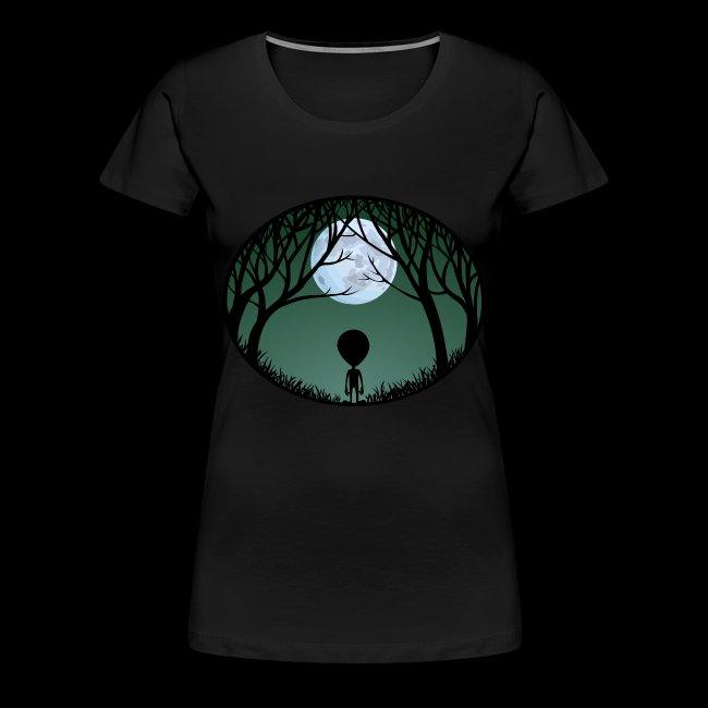 5db22c97 UFO and Alien Gifts Shirts Shop | Womens Alien T-shirt Alien Plus ...