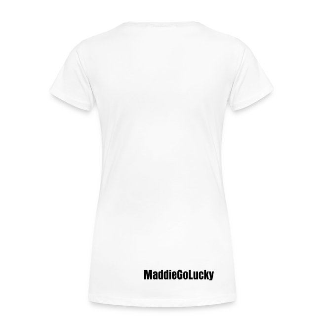 I'm a Lucky One (Women's - White)