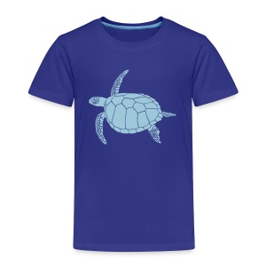 animal t-shirt sea turtle scuba diving diver marine endangered species - Toddler Premium T-Shirt