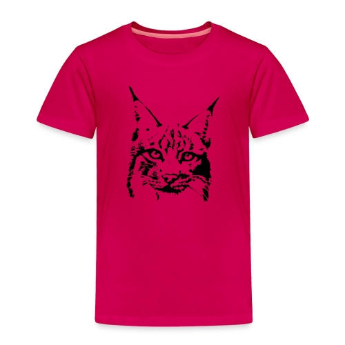 animal t-shirt lynx cougar puma jaguar cat wild predator tiger lion cheetah - Toddler Premium T-Shirt