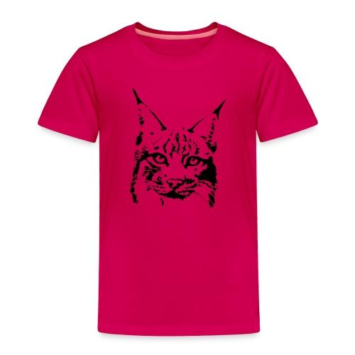 animal t-shirt lynx cougar puma jaguar cat wild predator tiger lion cheetah - Toddler Premium T-Shirt