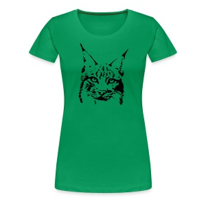 animal t-shirt lynx cougar puma jaguar cat wild predator tiger lion cheetah - Women's Premium T-Shirt