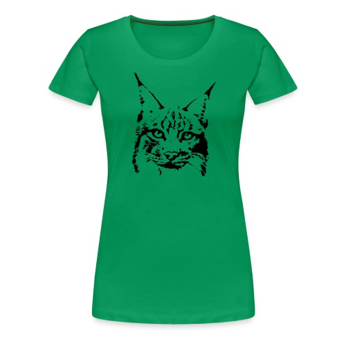 animal t-shirt lynx cougar puma jaguar cat wild predator tiger lion cheetah - Women's Premium T-Shirt