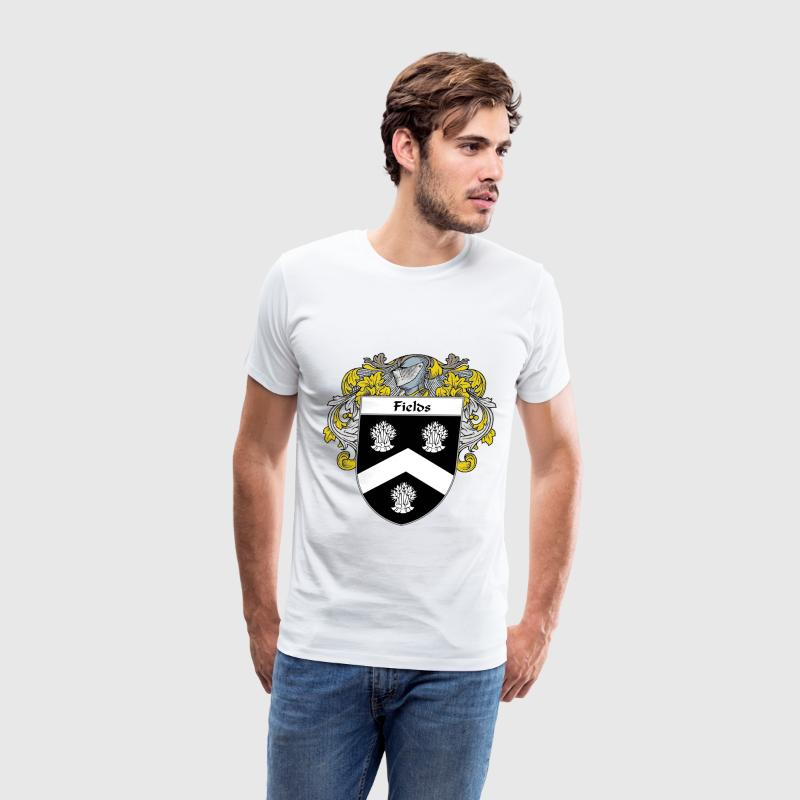 Fields Coat of Arms/Family Crest - Men's Premium T-Shirt