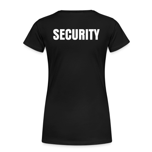 Security Shirt - Women's Premium T-Shirt