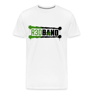 R3DBAND Heavy Shirt - InkLogo - Men's Premium T-Shirt