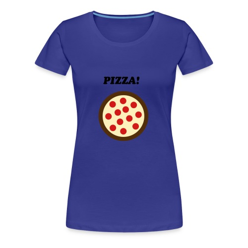 Female Pizza shirt - Women's Premium T-Shirt