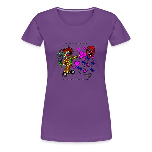 Blight the Clown Loves You! - Lady's Shirt - Women's Premium T-Shirt