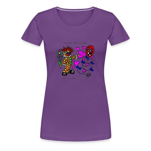 Blight the Clown Loves You! - Lady's Shirt - Women's Premium T-Shirt