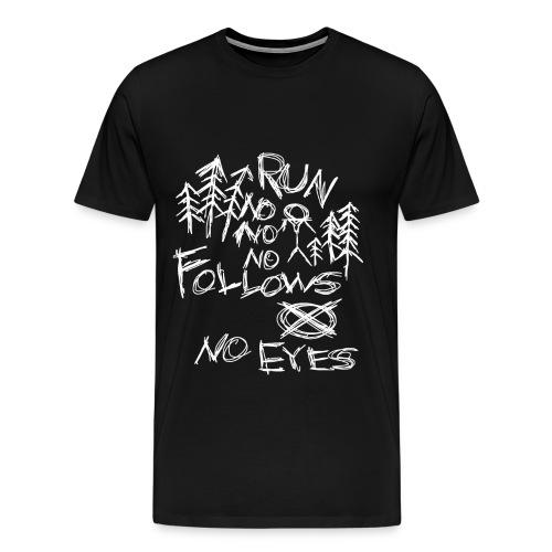 Slender No Eyes shirt - Men's Premium T-Shirt