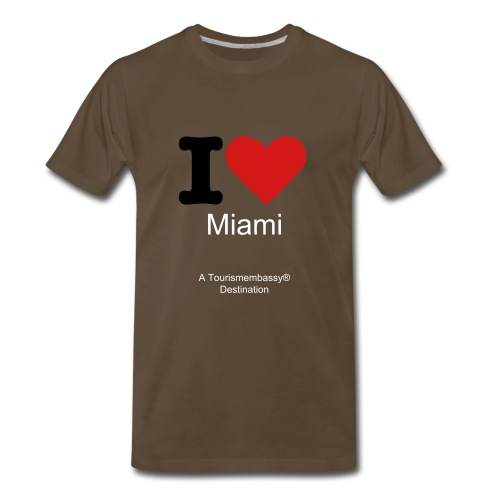 Love Miami - Men's Premium T-Shirt