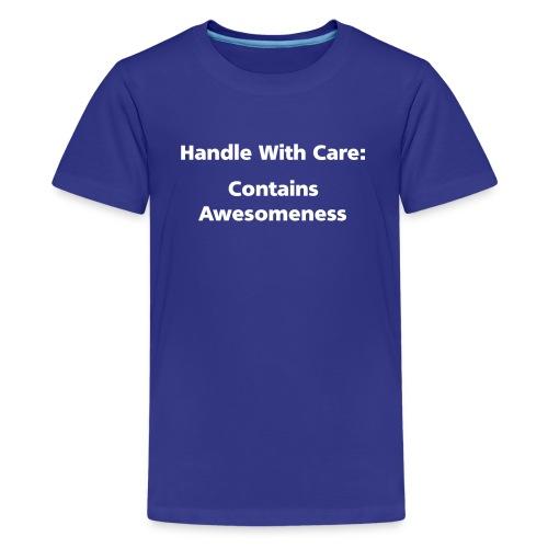 CHILD: Handle with care - Kids' Premium T-Shirt