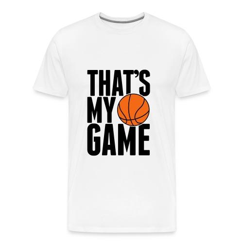 That's my game T-Shirt - Men's Premium T-Shirt