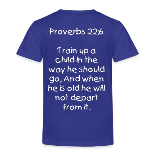 Trained in the way - Toddler Premium T-Shirt
