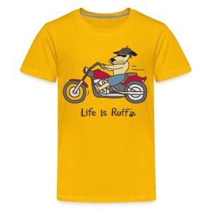 Biker Dog - Kids' Premium T-Shirt
