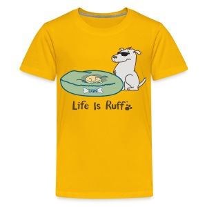 Cat/Dog Bed - Kids' Premium T-Shirt