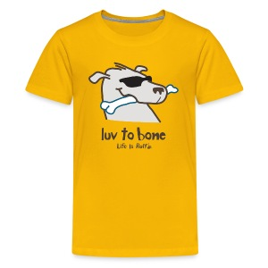 Dog Bone - Kids' Premium T-Shirt