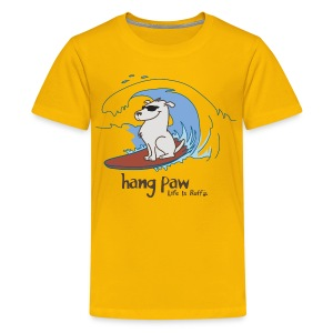 Hang Paw - Kids' Premium T-Shirt