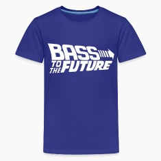 Bass to the Future Kids' Shirts