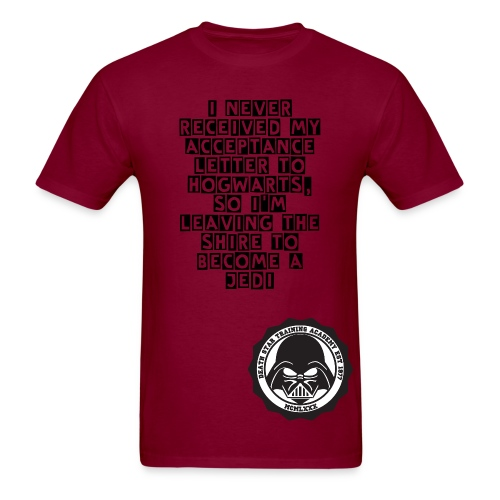 There'a nerd in all of us - Men's T-Shirt