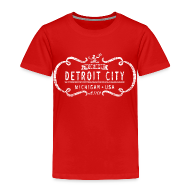Baby & Toddler Shirts ~ Toddler Premium T-Shirt ~ The One and Only Detroit City