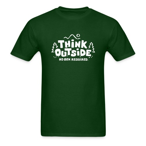 Think Outside - No Box Required - Men's T-Shirt