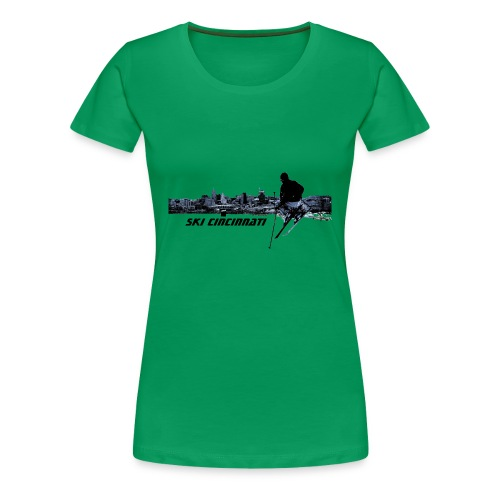 Ski Cincinnati 2 Women's T - Women's Premium T-Shirt