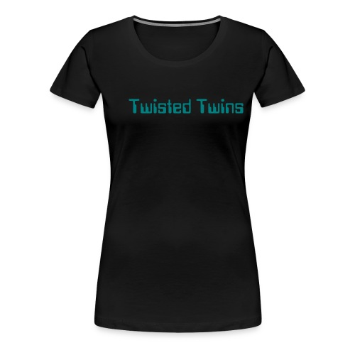Twisted Twins - Women's Premium T-Shirt