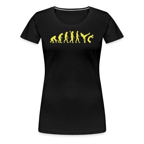 Capoeira Evolution - Women's Premium T-Shirt