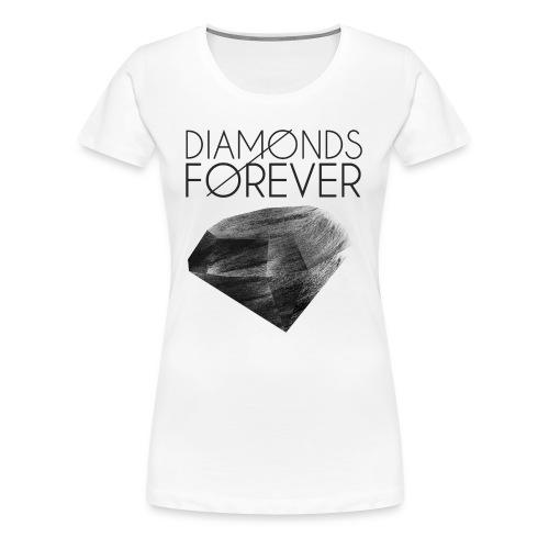 Diamonds 'R' Forever Tee - Women's Premium T-Shirt