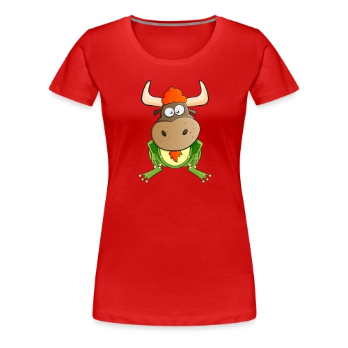 Womens Ginger Bullfrog - Women's Premium T-Shirt