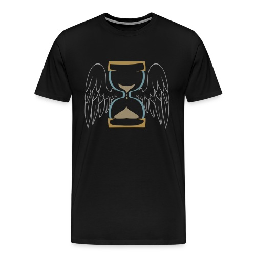 Winged Hourglass [Plus Size] - Men's Premium T-Shirt