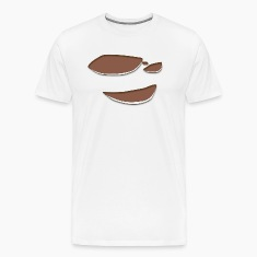 Torn T-shirt with Dark Skin