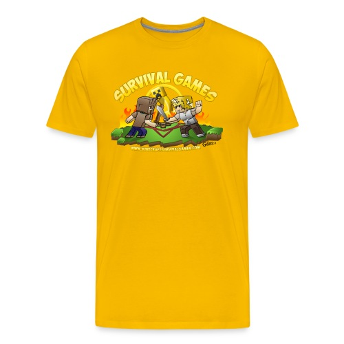 MCSG: The Games Have Begun - Men's Premium T-Shirt