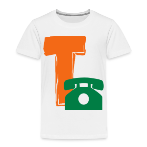 T Telephone - Toddler Premium T-Shirt