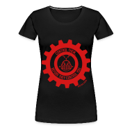 T-Shirts ~ Women's Premium T-Shirt ~ MTRAS Control The Robots Red - Women's XL Tshirt