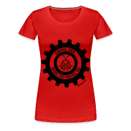 T-Shirts ~ Women's Premium T-Shirt ~ MTRAS Control The Robots Black - Women's XL Tshirt
