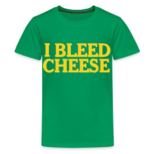 I Bleed Cheese - Kids' Premium T-Shirt