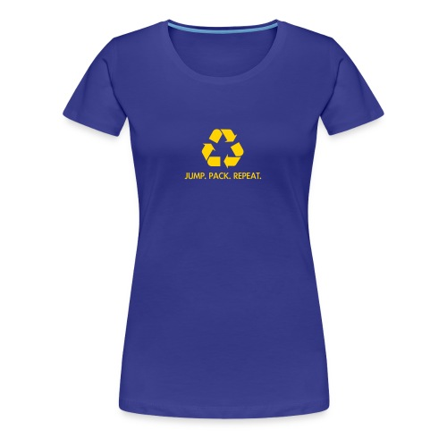 Jump. Pack. Repeat. (Women's) - Women's Premium T-Shirt