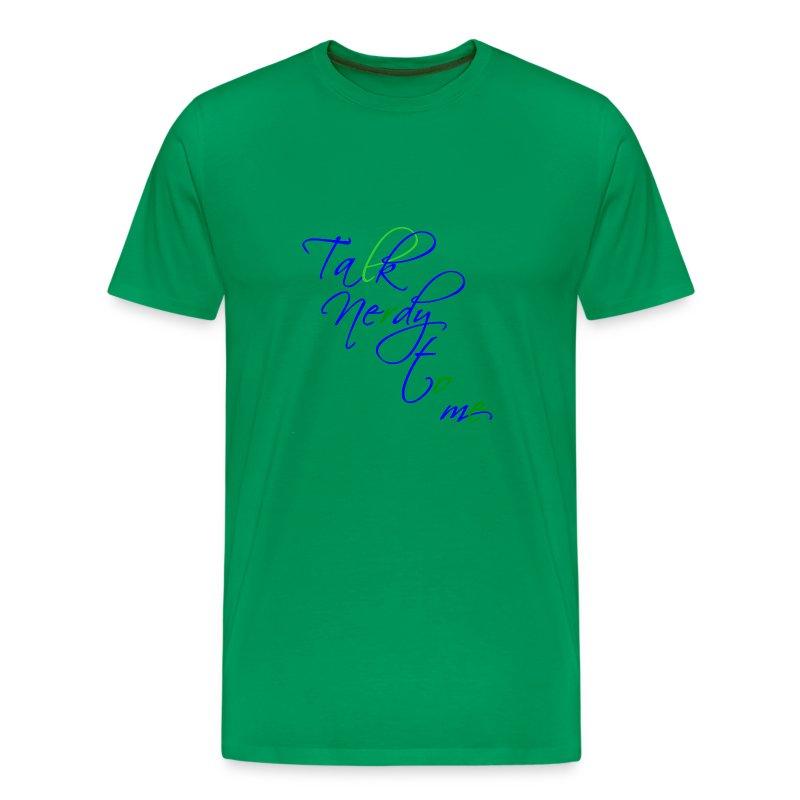 Talk Nerdy - Men's Premium T-Shirt