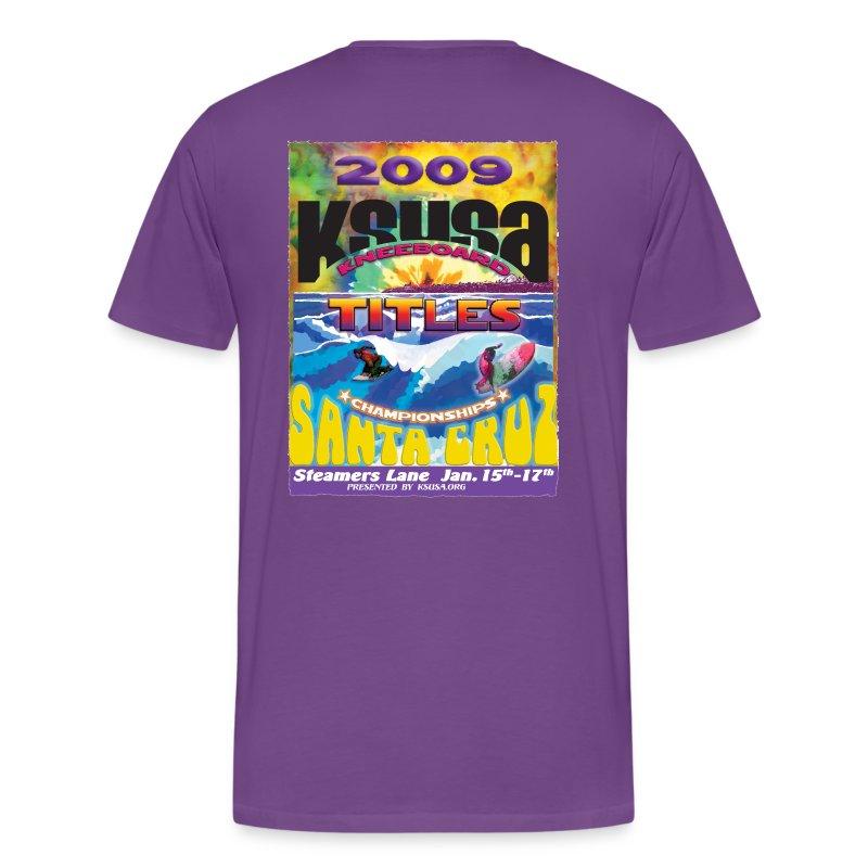 2009 Event Postershirt - Men's Premium T-Shirt