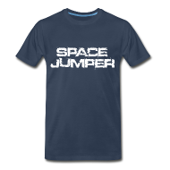 T-Shirts ~ Men's Premium T-Shirt ~ Space Jumper T Shirt