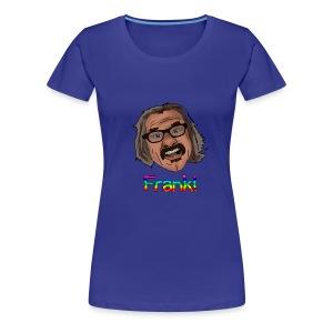 Women's Frank T Rainbow Letters - Women's Premium T-Shirt