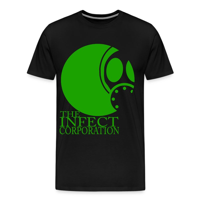 GREEN INFECT CORP 3X/4X TEE - Men's Premium T-Shirt